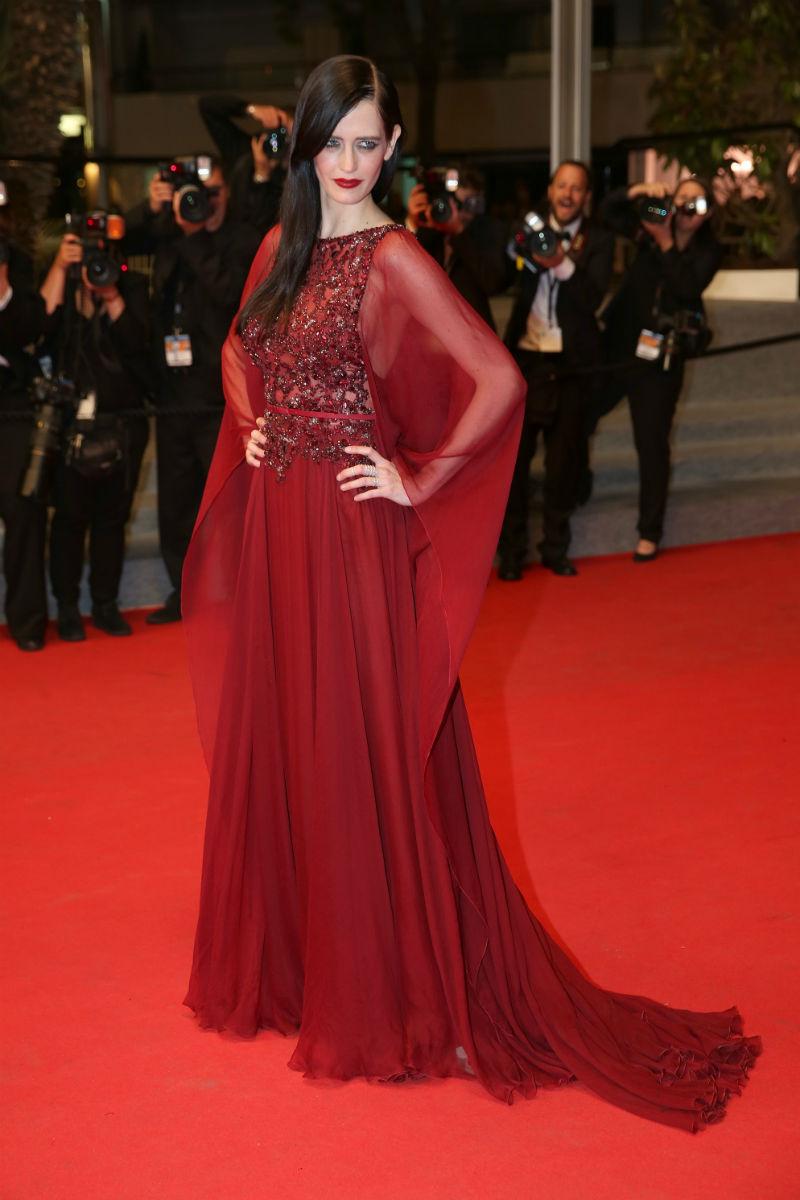 Eva Green deslumbrante con este Elie Saab Couture.