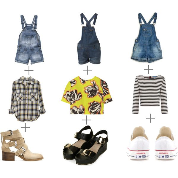 denim romper! How to wear?