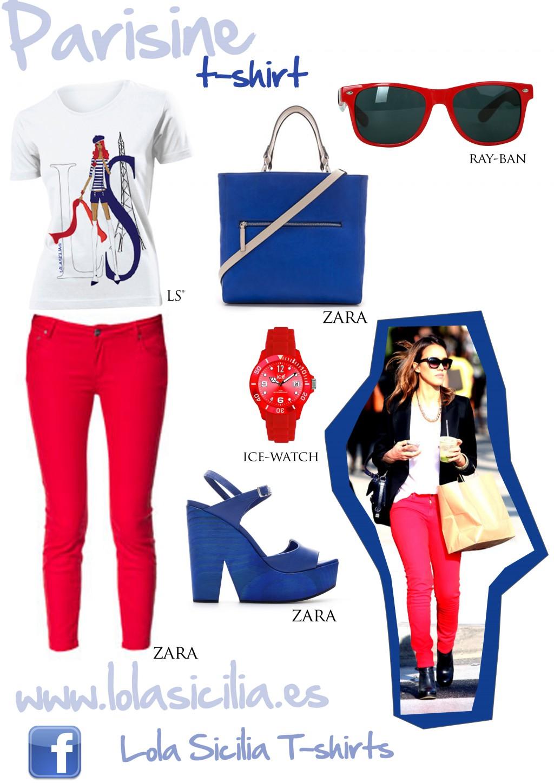 Look of the week: Pitillos Rojos + Parisine T-shirt-278-lolasicilia