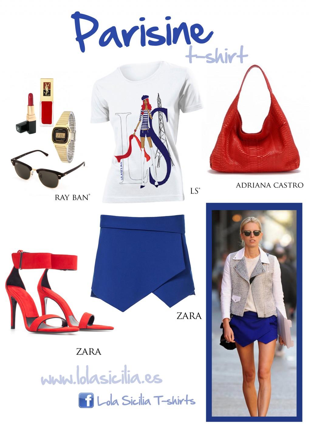 Look of the week: Falda pantalón + Parisine T-shirt-323-lolasicilia