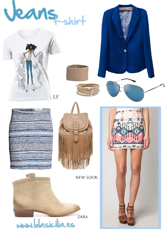 Look of the Week: Estampado Étnico + Jeans T-shirt-339-lolasicilia
