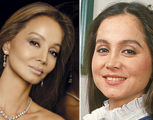 El antes y después de las famosas