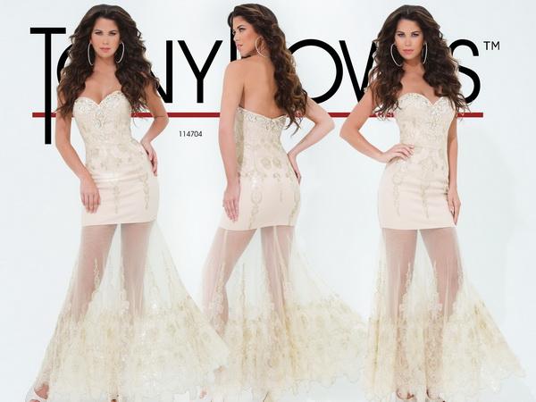 tony-bowls-tulle-ivory-prom-dresses-2014