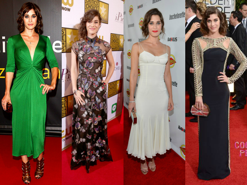 Get inspiration for your formal dresses looks from Lizzy Caplan-33-jane0229