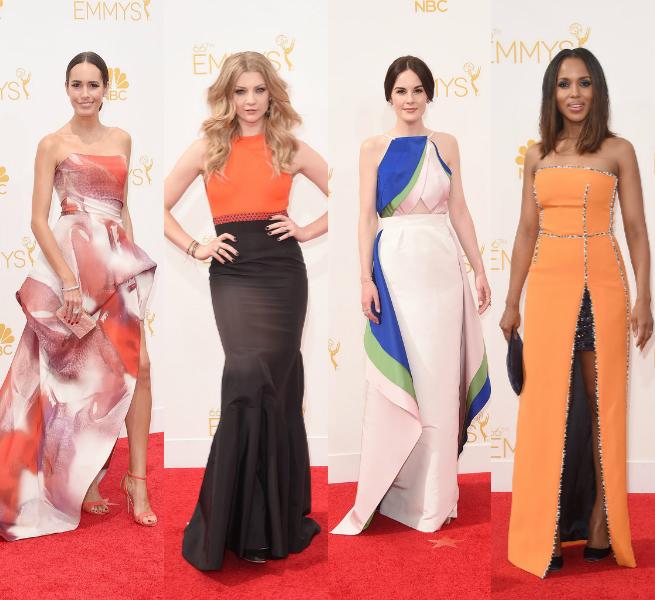 modern Emmy Awards 2014 dresses