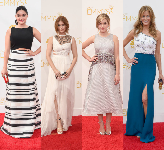 stylish modern Emmy Awards 2014 dresses