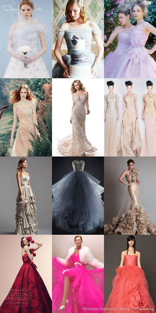 Colorful wedding dress makes you become the most beautiful bride in the spring!-153-jane0229