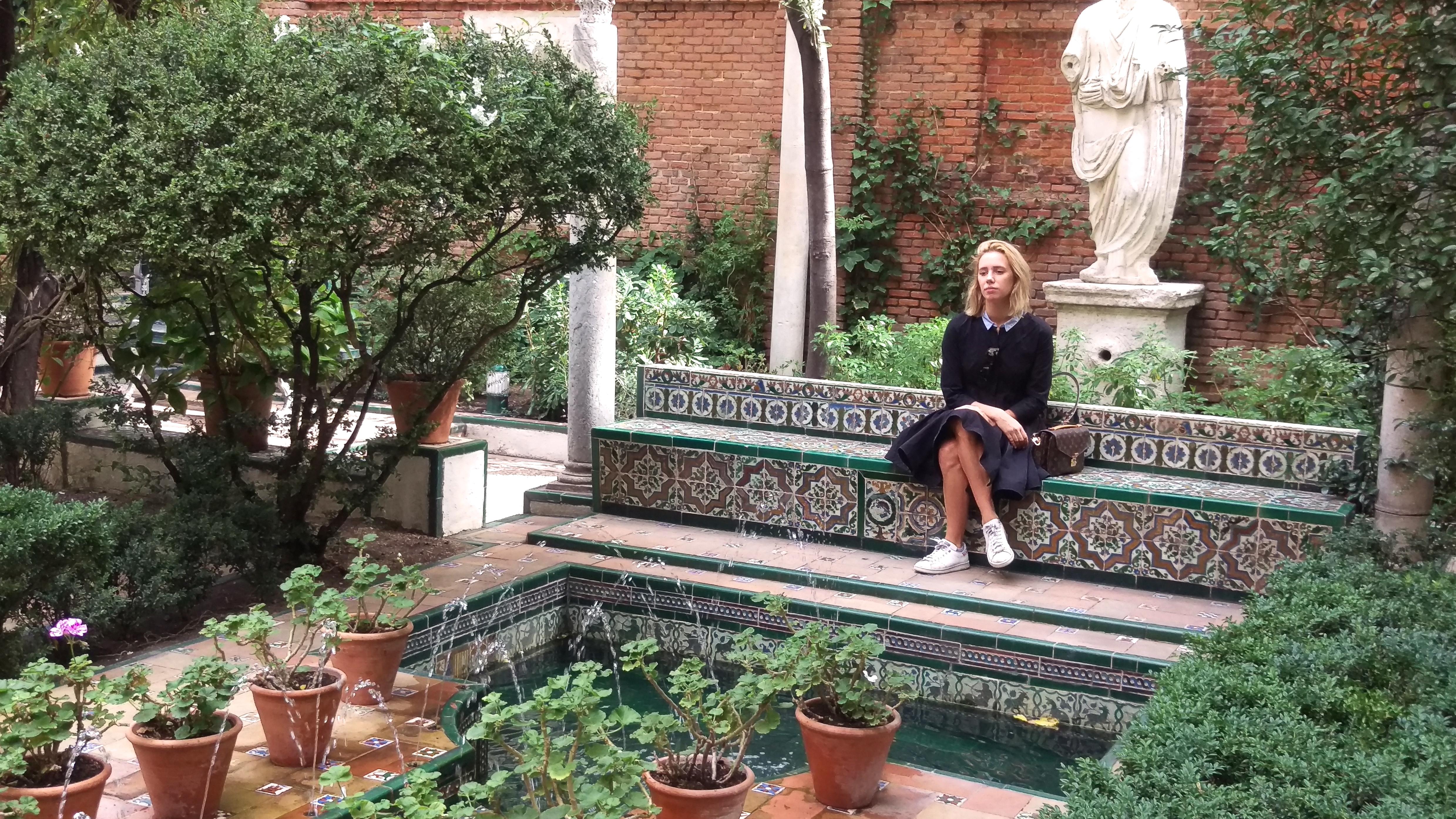 Museo sorolla lifestyle lulumai for Jardin spanish