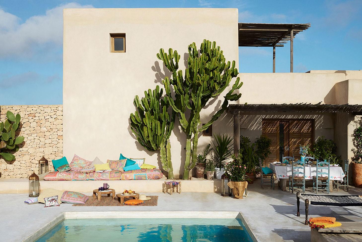 luz del tajo llena tu casa de color con zara home. Black Bedroom Furniture Sets. Home Design Ideas
