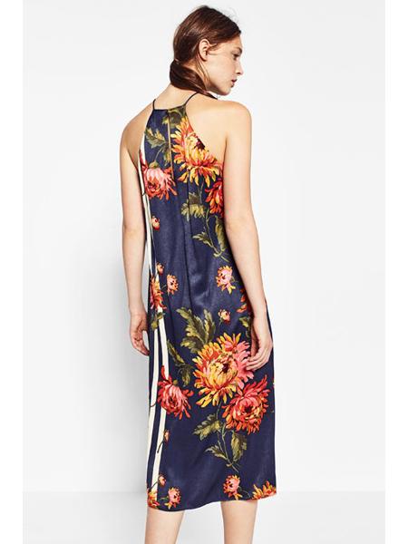 zara trf-otoño invierno-luz del tajo-nueva temporada-vestido flores
