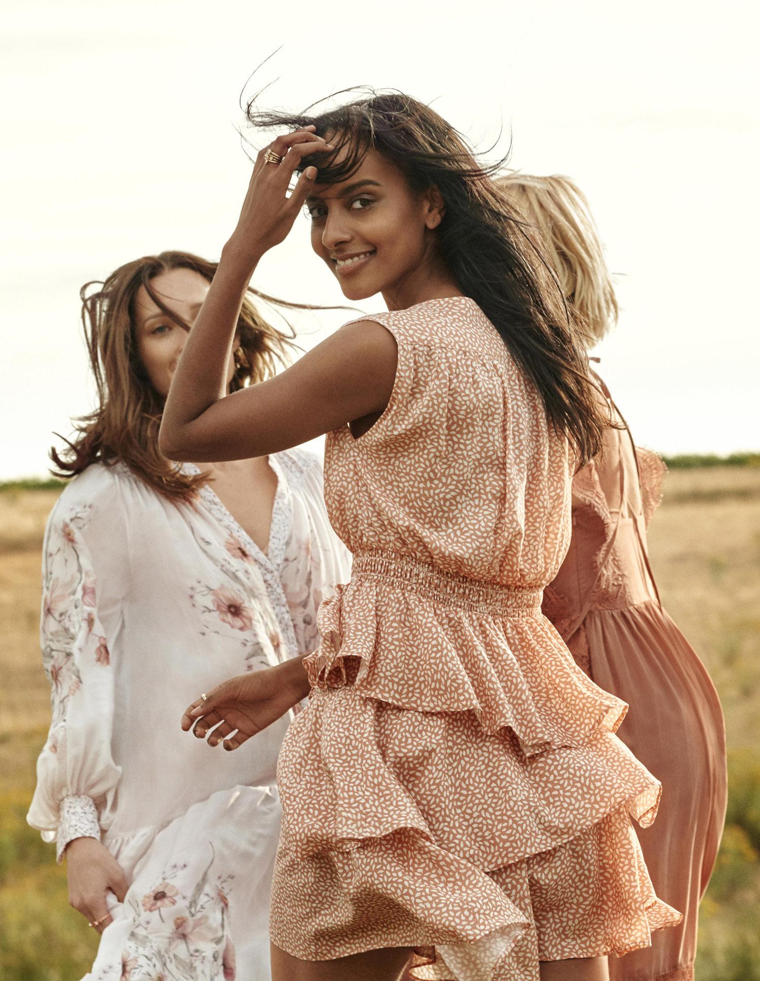 H&M CONSCIOUS SS19 moda, On top Macarena Gea