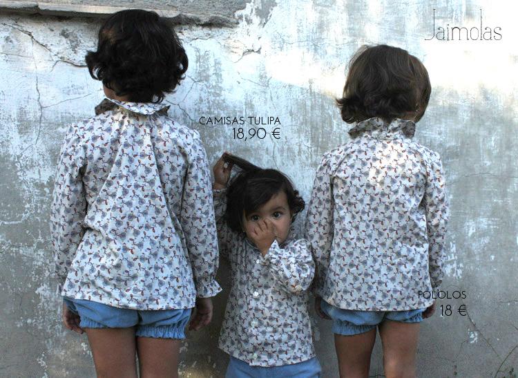 camisas de flores de niña