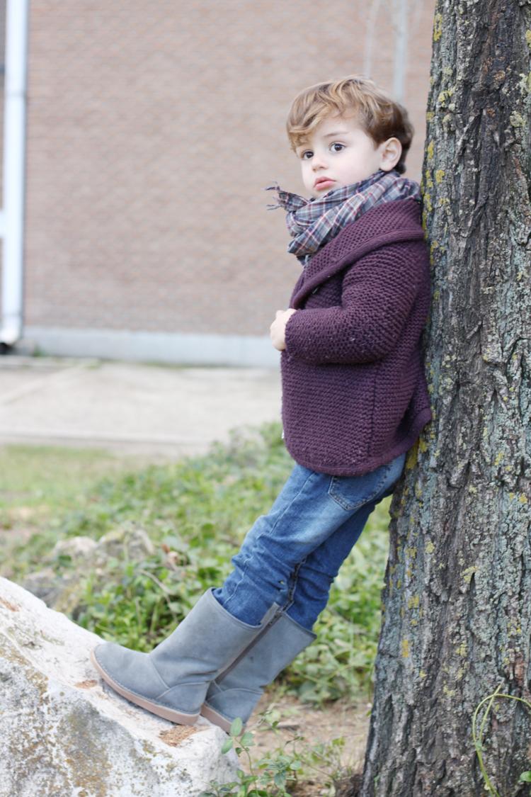 botas tipo ugg para niños