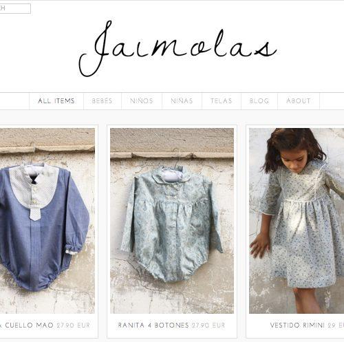 Nueva tienda on line: Jaimolas – Mamá trendy