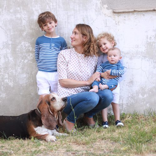La familia de Kidsme – Mamá trendy
