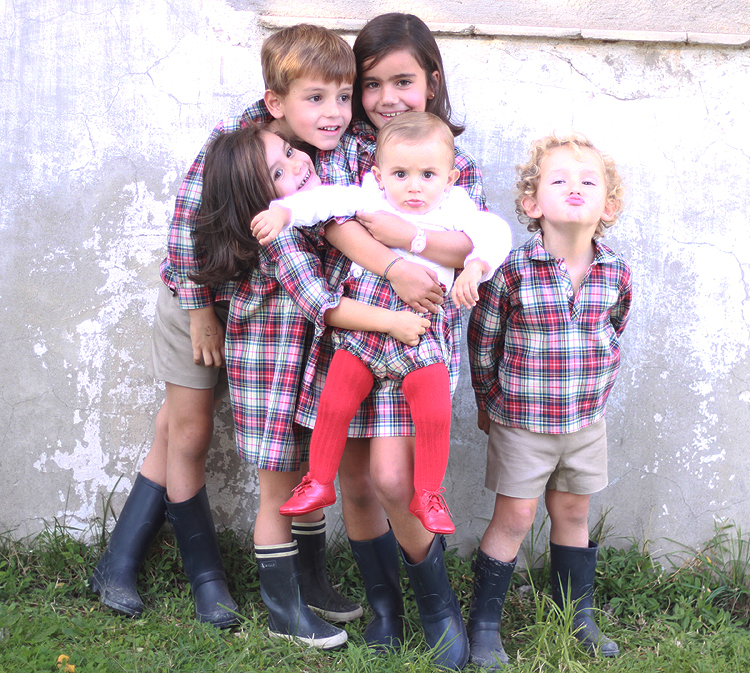 familia-escoces-nino-nina