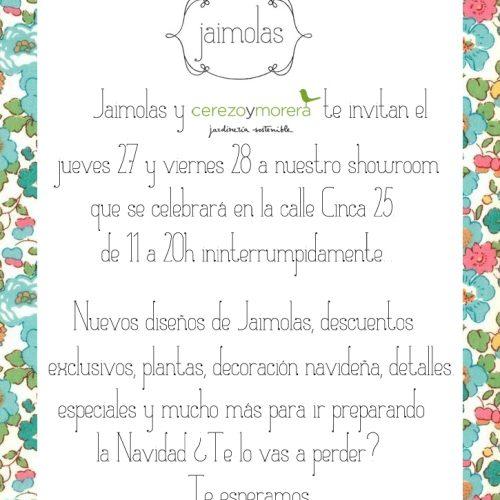 Showroom Jaimolas.com – Blog Mamá trendy