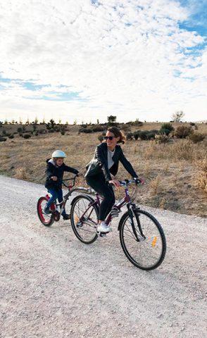 WeeRide, la manera de montar en bici con los niños - Mamá trendy