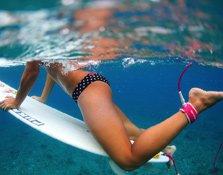 Las surfistas que triunfan en Instagram