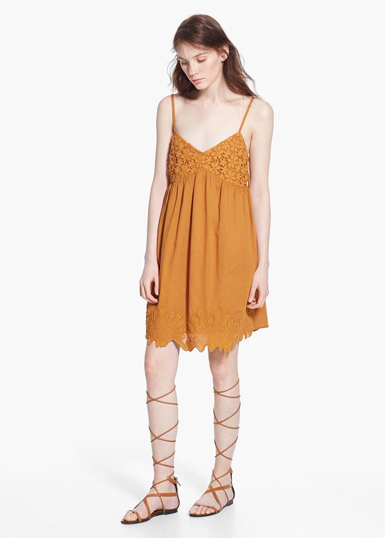 vestido-boho-mostaza-mango-stylelovely