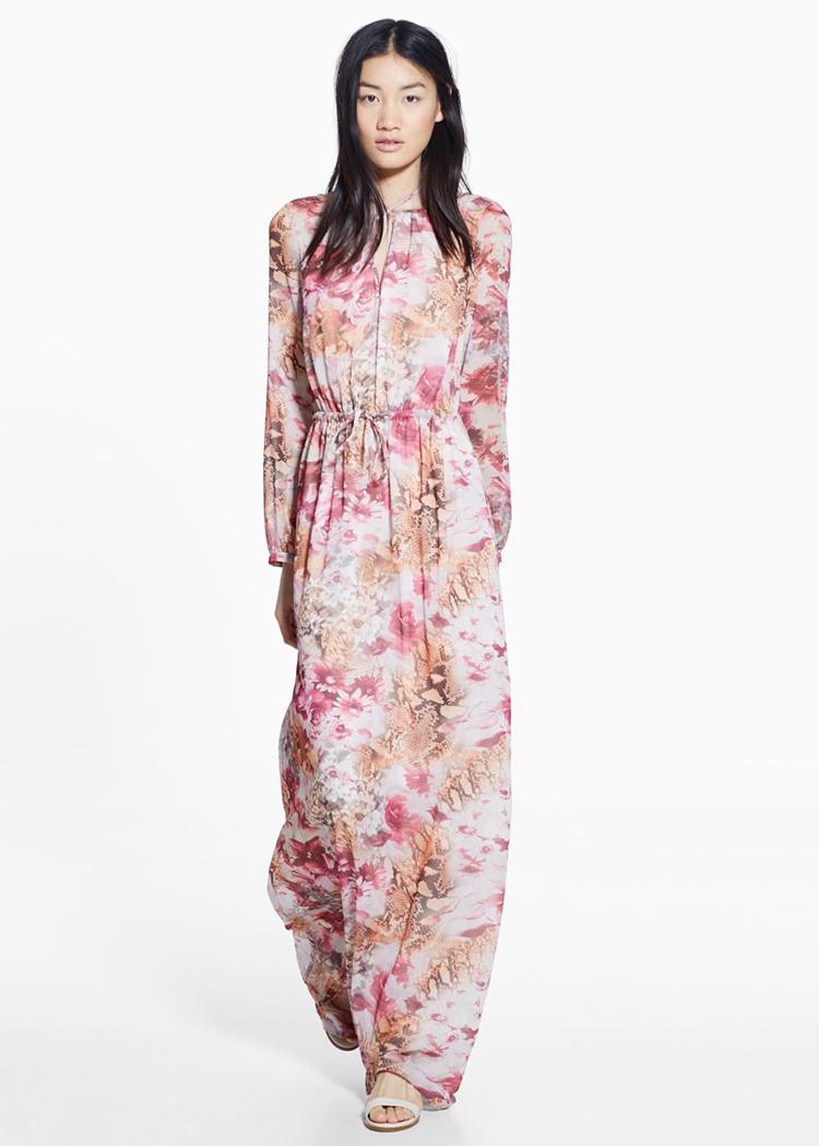 vestido-flores-largo-mango-stylelovely