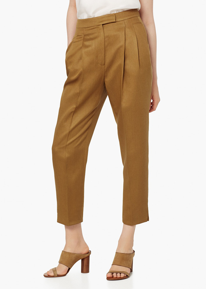 Pantalón baggy mango