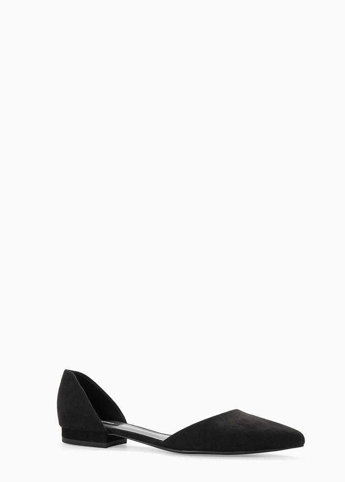 zapato plano mango