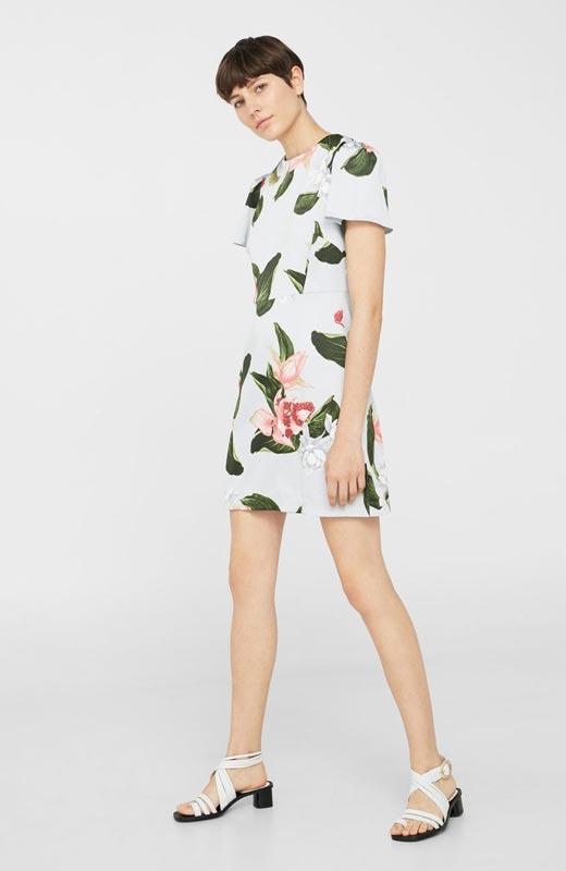 vestidos de flores primavera