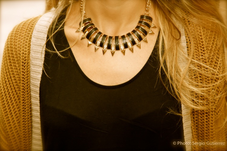 Collar pinchos ZARA