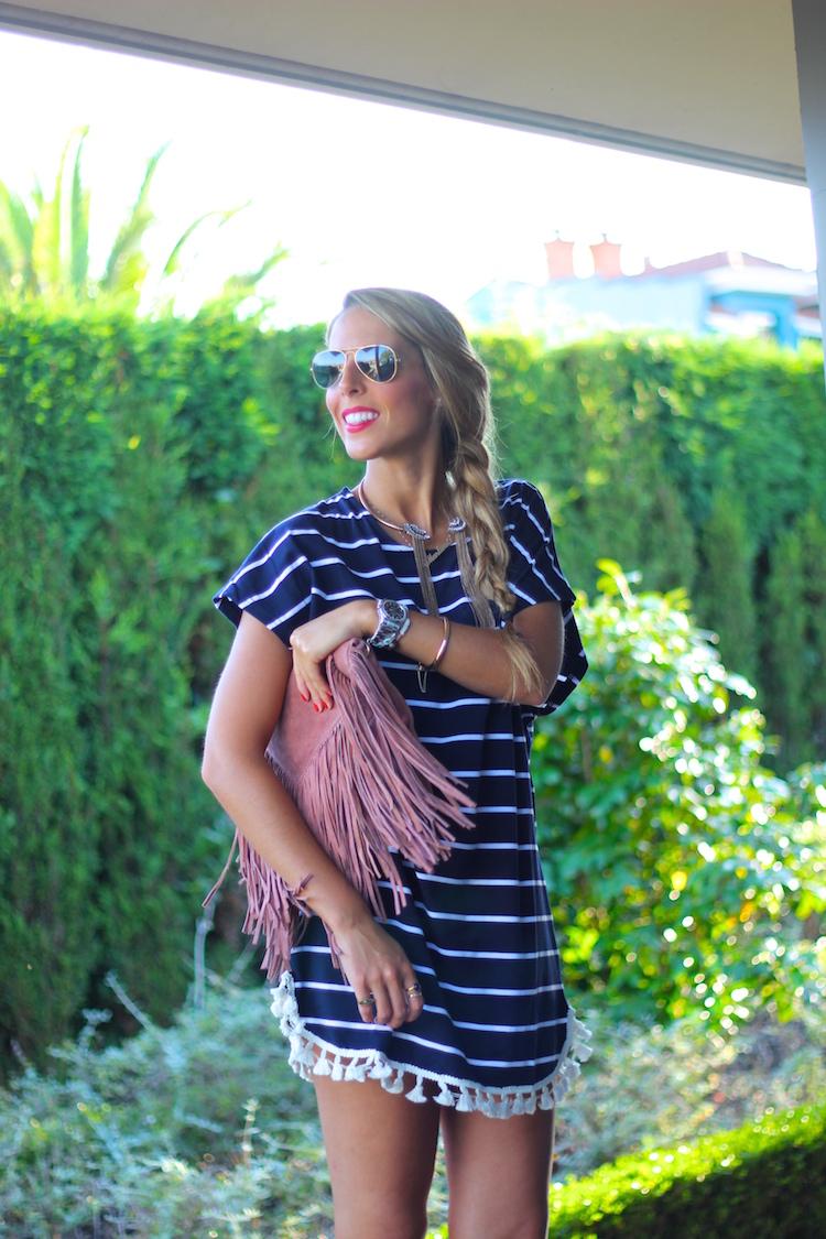 Striped Dress-75627-martinas