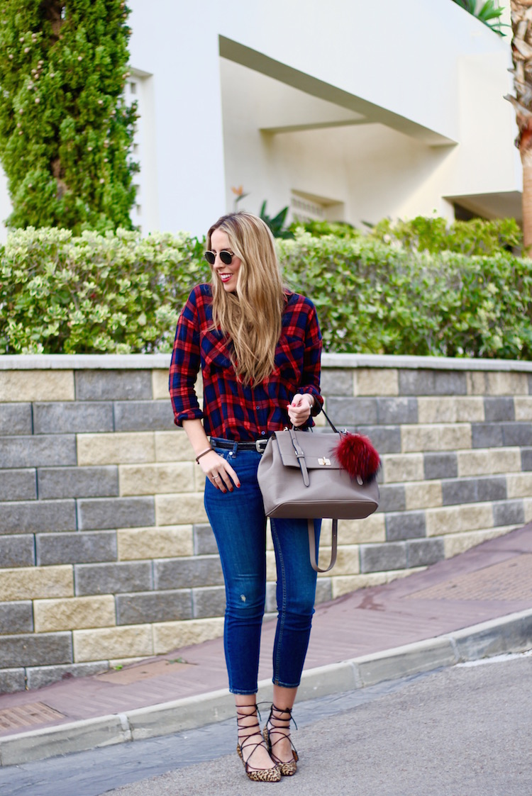 Checked Shirt, blue and red-78033-martinas