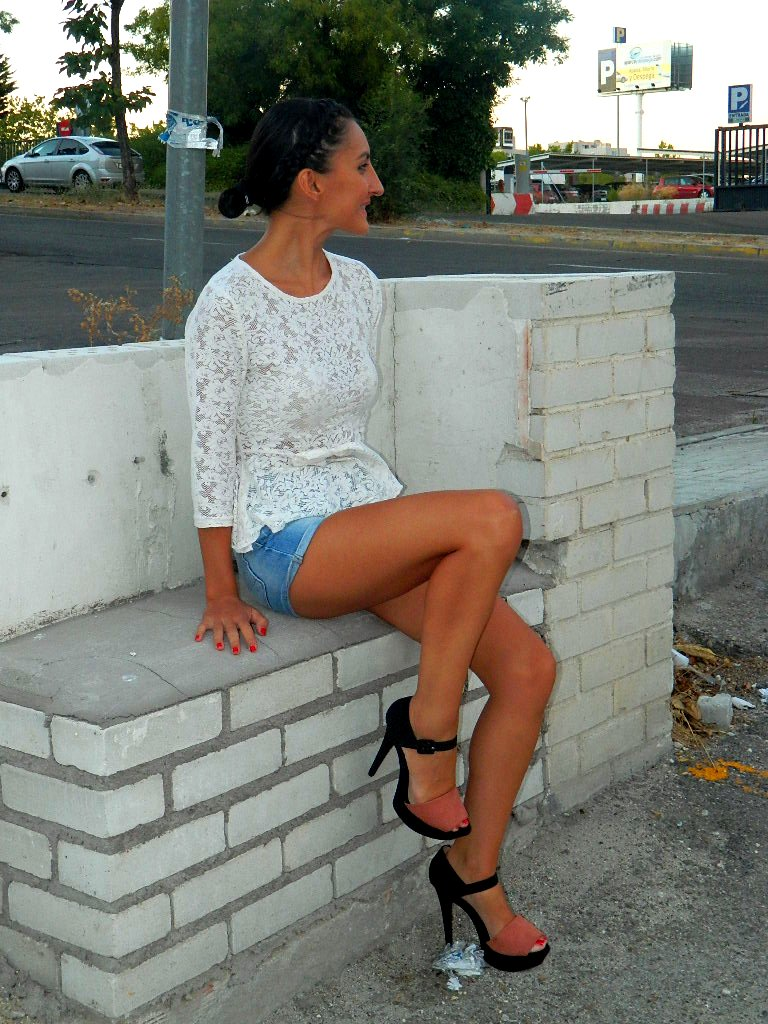 Top encaje y shorts 010