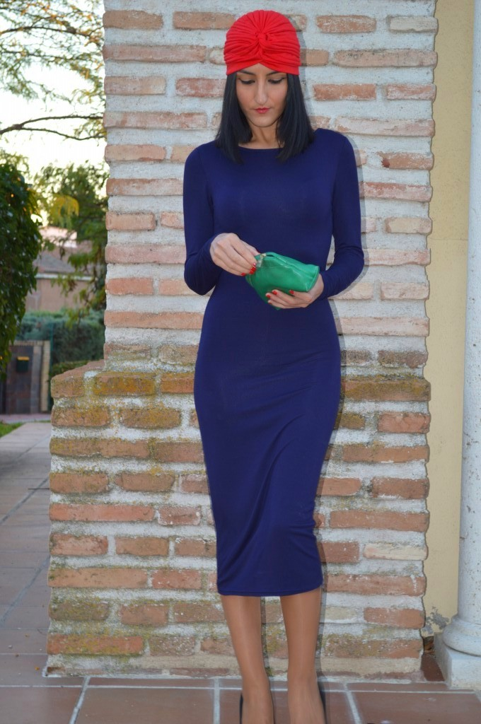 Vestido / dress: topshop Turbante / turban: ontop Stilettos: Suiteblanco Clutch: tienda local - local store