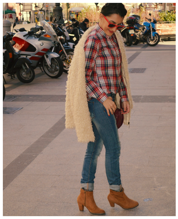 Abrigo / coat: Green coast Camisa / shirt: Primark Jeans: Mango Botines / booties: Bershka (old) Bolso / bag: Bershka gafas de sol / sunglasses: Ray ban wayfarer