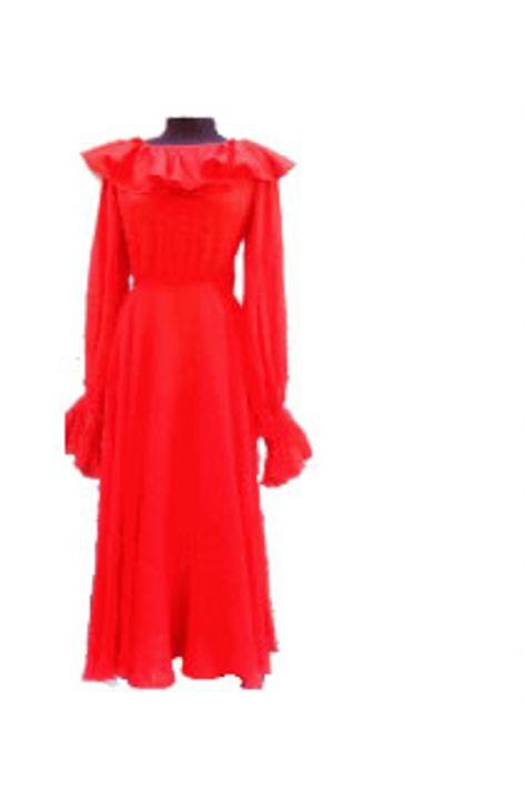vestido-naranja-años-60 (1)