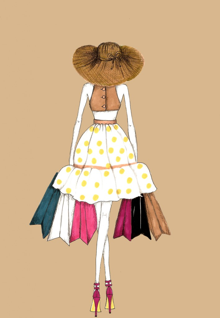 Fashion illustration vanessa datorre