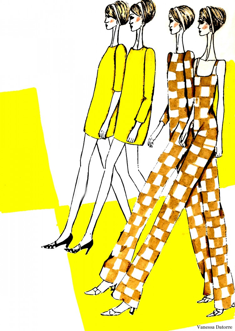 Fashion illustration Louis Vuitton