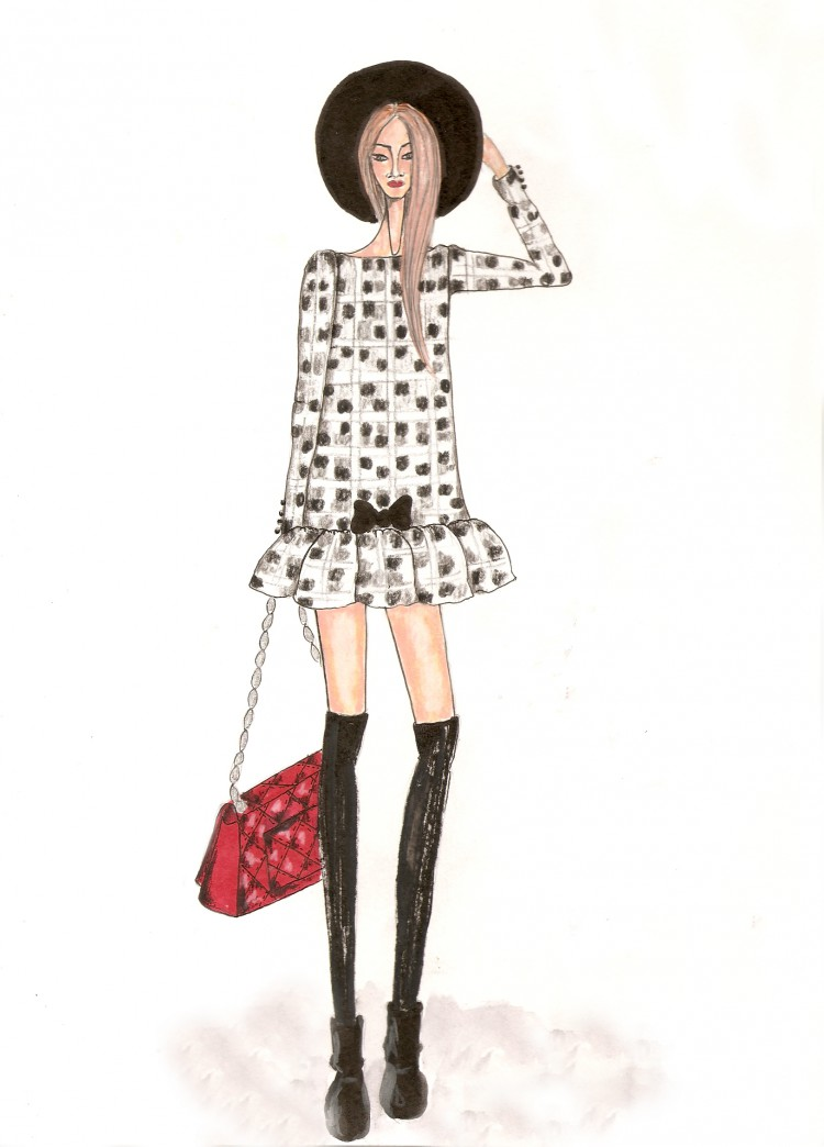 Chictopia fashion illustration