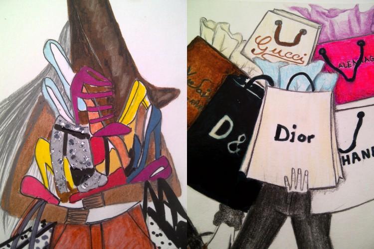 Garabatos, bocetos y cuadros-47822-