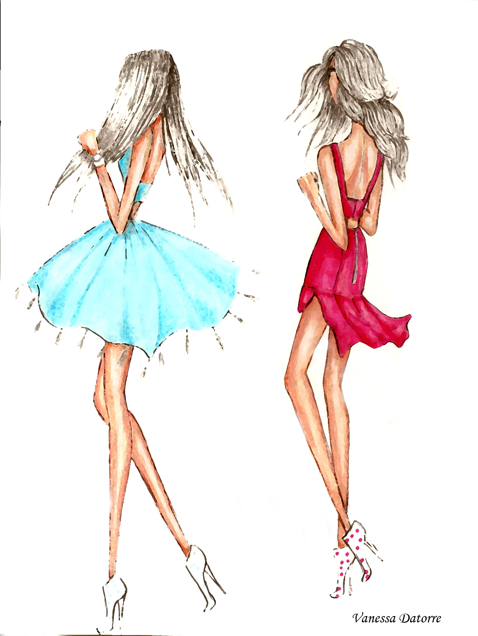 Street Style Fashion Illustration And Much More