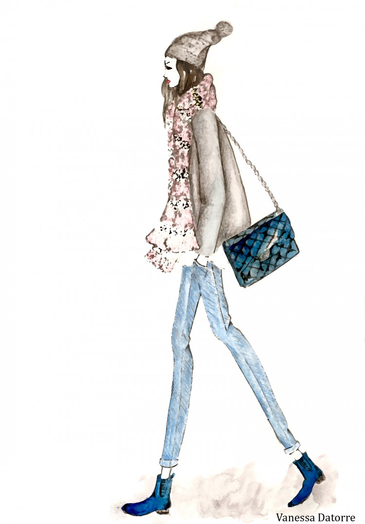 vanessa datorre fashion illustrations