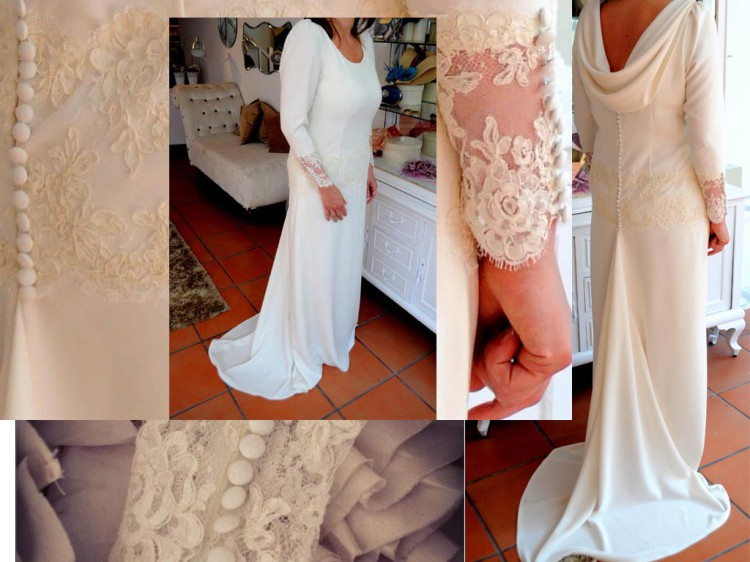 vestido de novia Laura