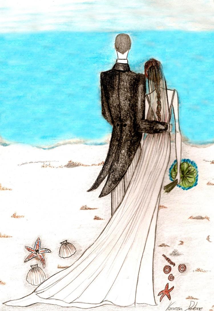 ilustración boda