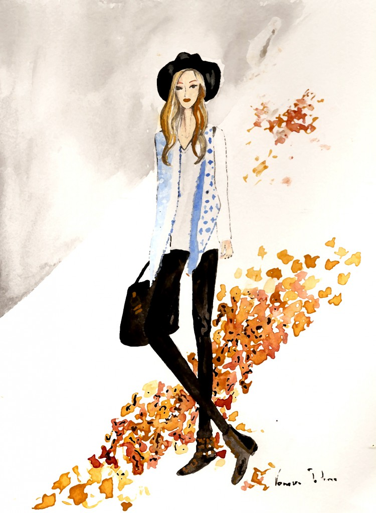 Oh my vogue. Fashion illustration