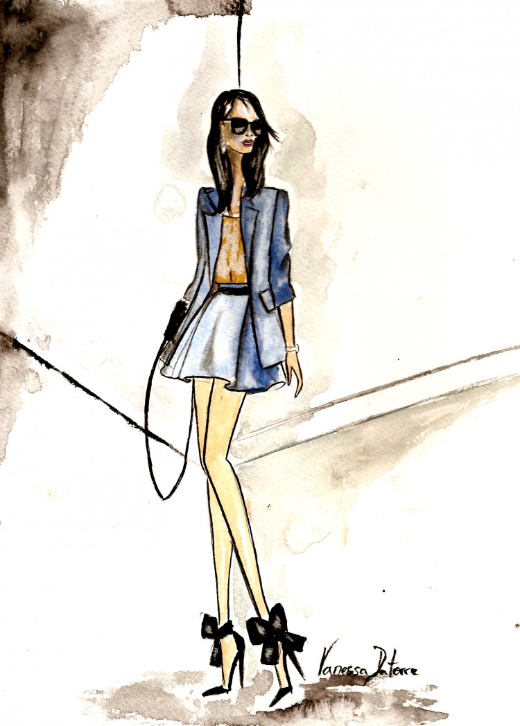 fashion illustration Annabelle Fleur