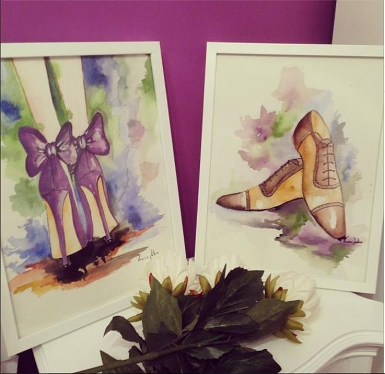 Sketching lovely shoes-50586-