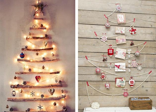Christmas Diy 1a Parte Ideas Originales Para Elaborar Nuestro - Ideas-arboles-de-navidad