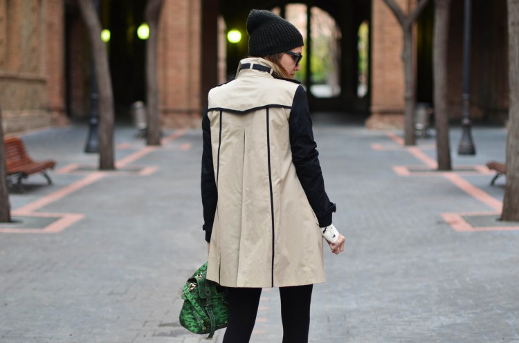 TWO TONE TRENCH-52594-mydailystyle