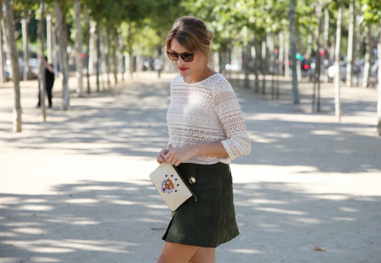 GREEN SUEDE SKIRT-56183-mydailystyle