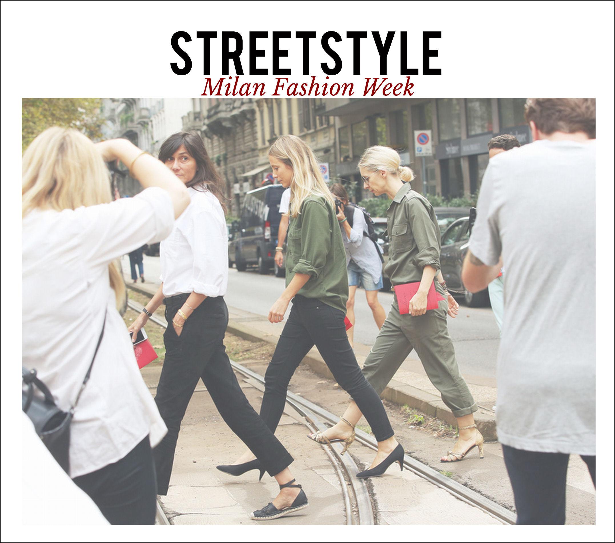 STREETSTYLE: MILAN FASHION WEEK - My Daily Style